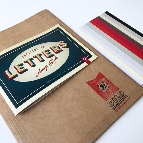 3D Letters Workshop pakket