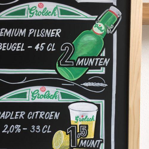 Beer menu detail for Grolsch