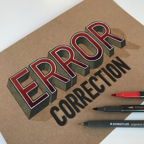 Staedtler Error correction